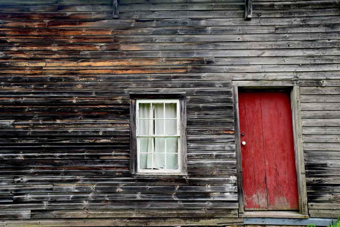 abandoned architecture barn cabin